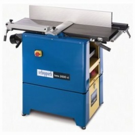 Scheppach HMS2600CI 250mm by 210mm Planer Thicknesser With FREE Base